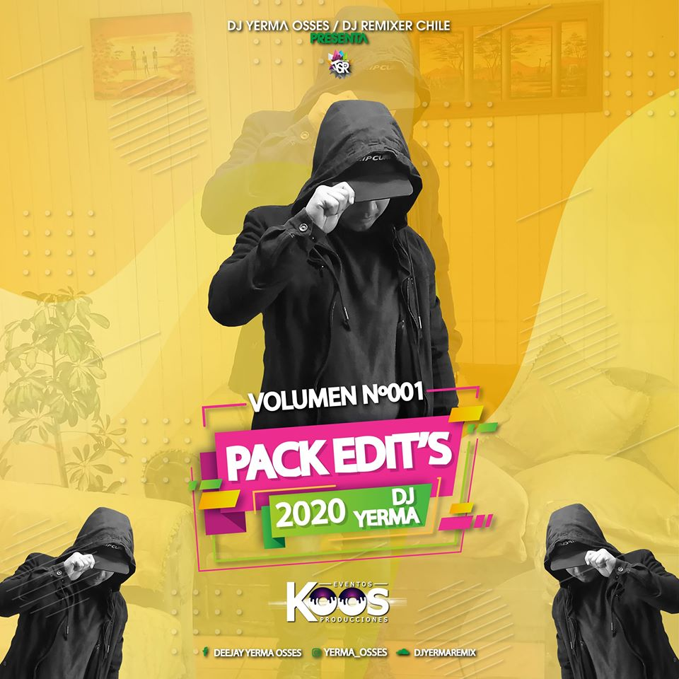 PACK VOL N°1 DJ YERMA OSSES 2020